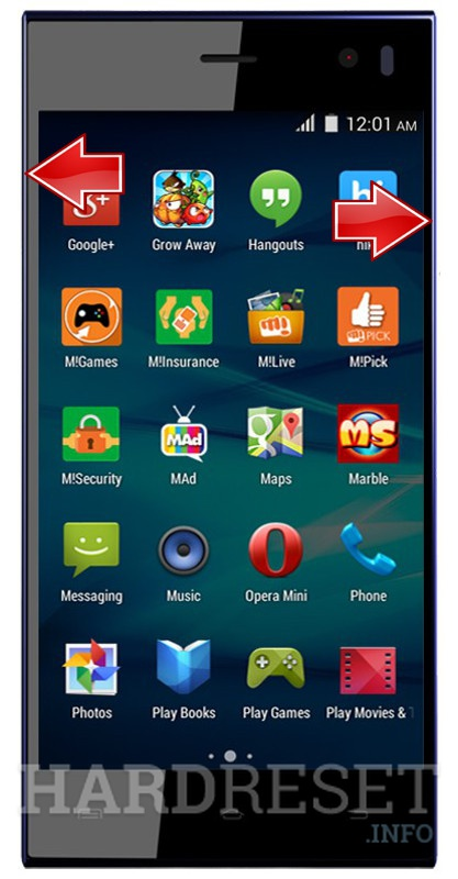 HardReset MICROMAX Canvas Xpress A99