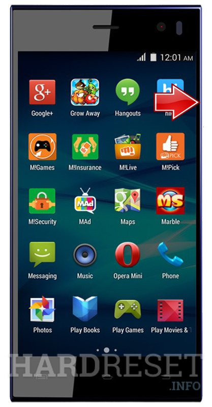 Hard Reset MICROMAX Canvas Xpress A99