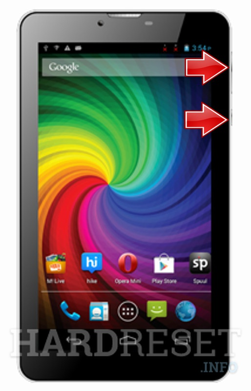 HardReset MICROMAX Funbook P410i