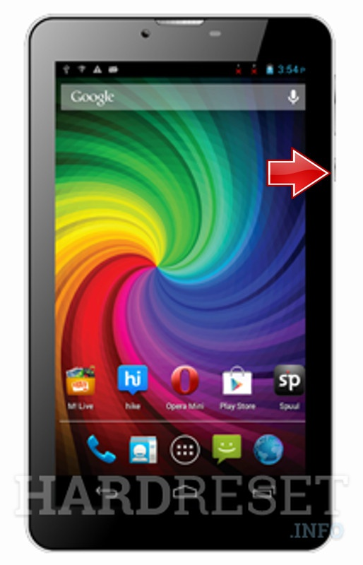 Hard Reset MICROMAX Funbook P410i