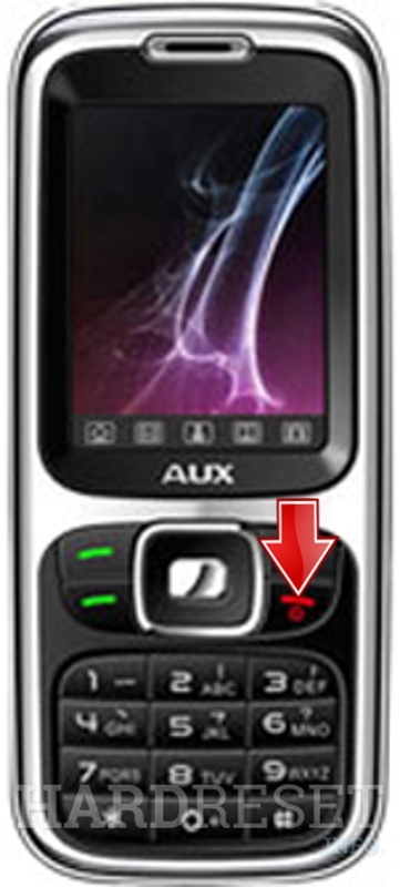 Permanently delete data from AUX M221
