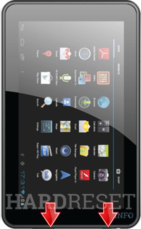 HardReset MICROMAX Funbook P250