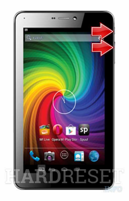 HardReset MICROMAX Funbook P365