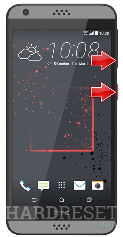 Hard Reset HTC Desire 630 - HardReset info