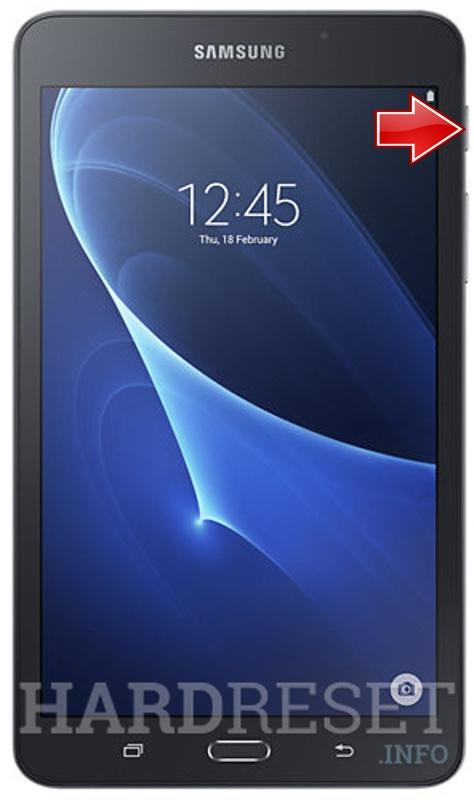 samsung tablet 7.0 hard reset