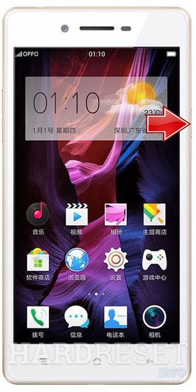 Wipe data on OPPO A35