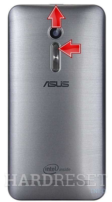 Remove Screen Lock ASUS Zenfone 2 ZE550ML