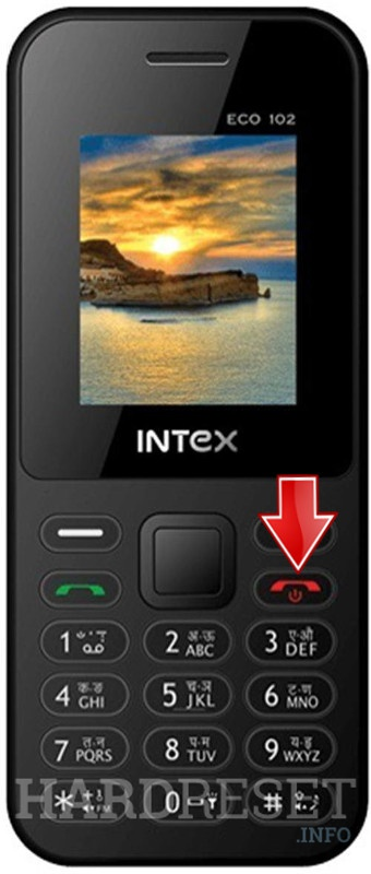 Hard Reset INTEX Eco 102e