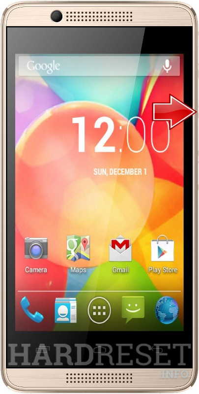 Remove screen password on INTEX Aqua 3G Pro
