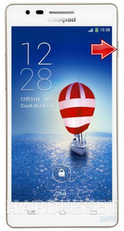 Hard Reset CoolPAD 5892