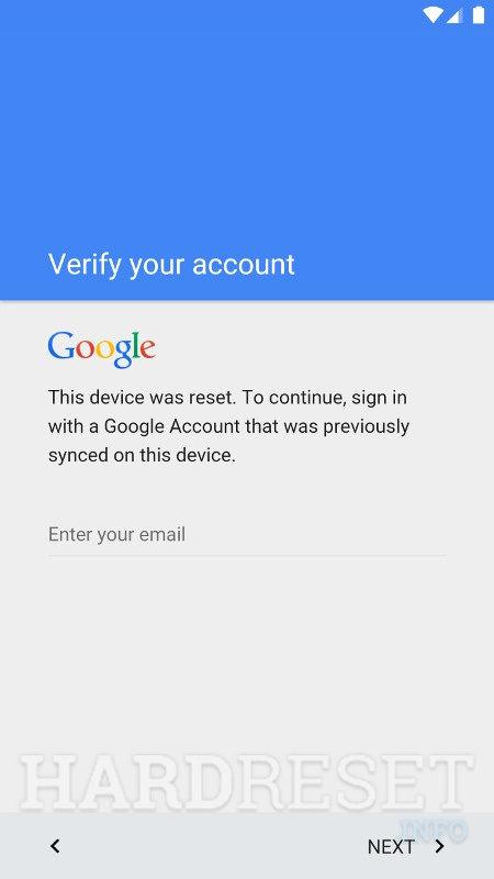 Google Account Lockdown