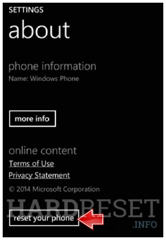 how to reset microsoft account in lumia 535