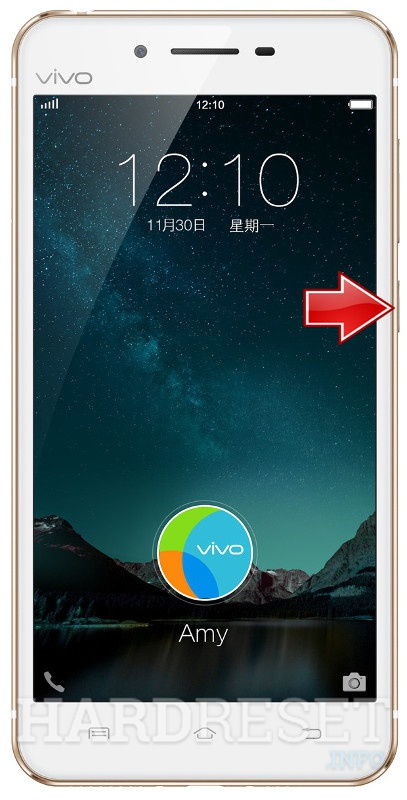 Hard Reset VIVO X6