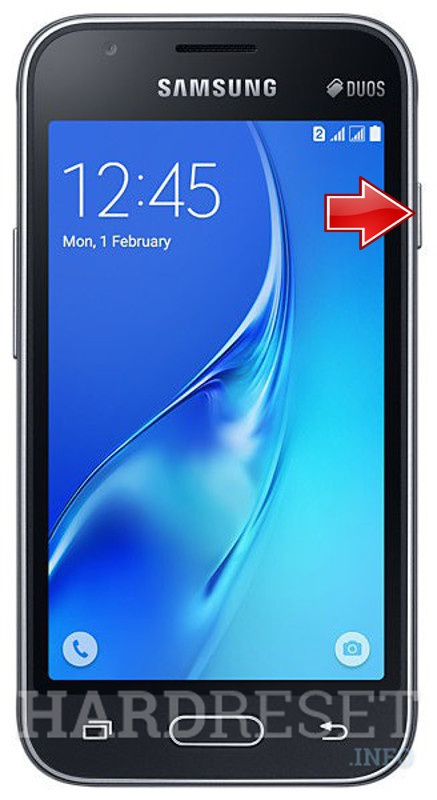 Hard Reset SAMSUNG J105F Galaxy J1 Mini