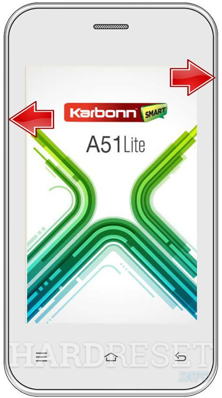 Remove Screen Lock KARBONN A51 LITE
