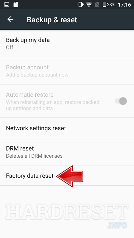Remove screen password ASUS Zenfone Max ZC550KL