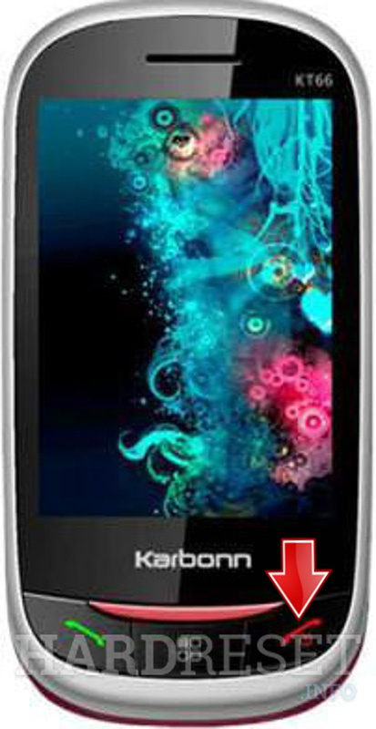 Hard Reset KARBONN KT66 THUMP