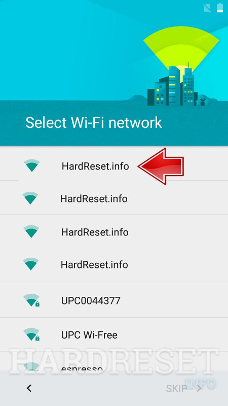 ZTE Paragon WiFi networks