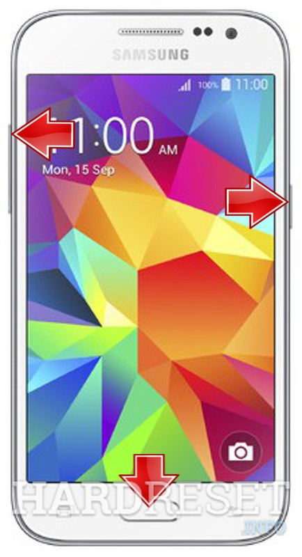 Factory Reset SAMSUNG G361H Galaxy Core Prime