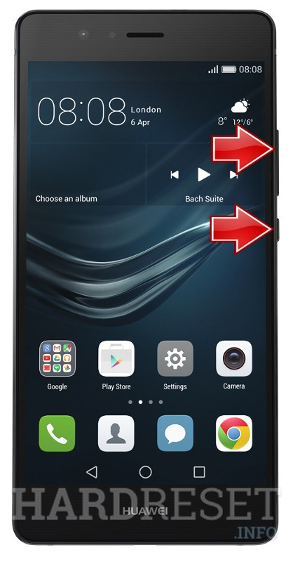 Remove Screen Lock HUAWEI L53 P9 Lite