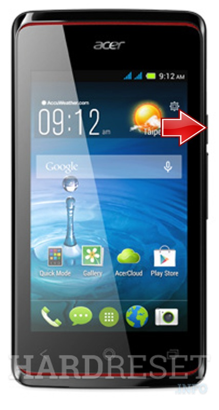 Hard Reset ACER Liquid Z200 Duo