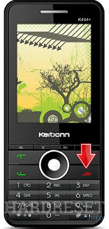Hard Reset KARBONN K444 PLUS