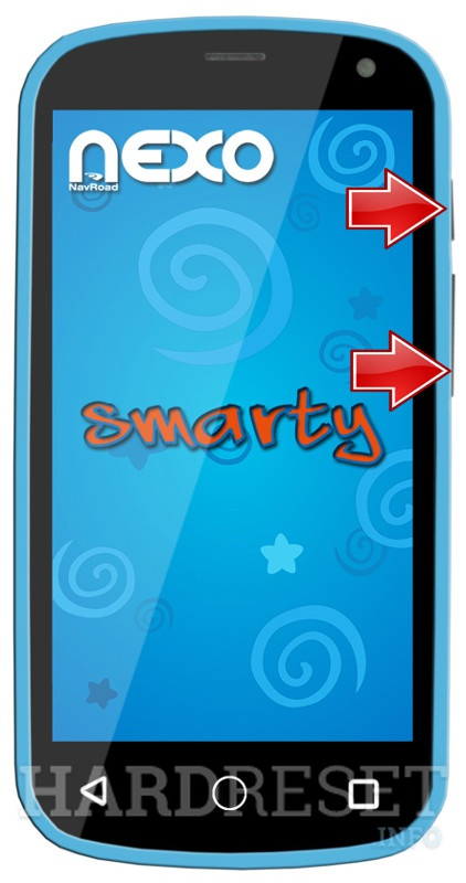 Permanently delete data from NAVROAD Nexo Smarty