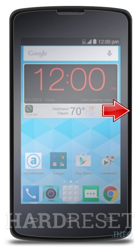 Hard Reset ZTE Quest N817