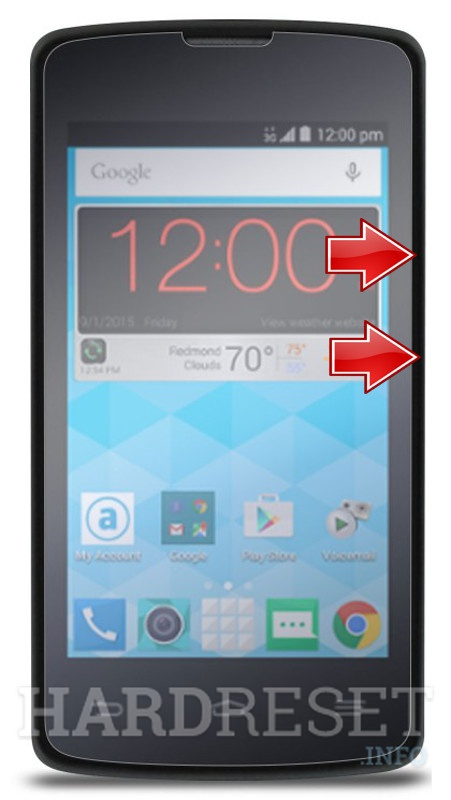 Zte Quest N817 Recovery Mode Hardreset Info