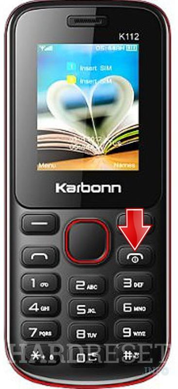 Hard Reset KARBONN K112 - HardReset info