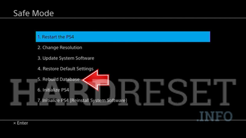 What Does Rebuild Database Do On Ps3