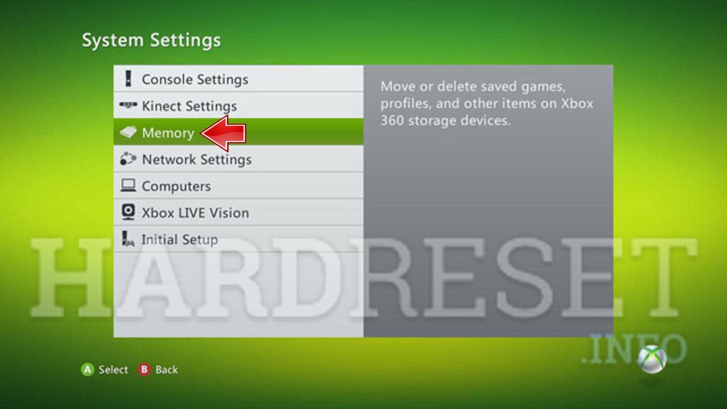 Hard Reset MICROSOFT Xbox 360 E - HardReset info