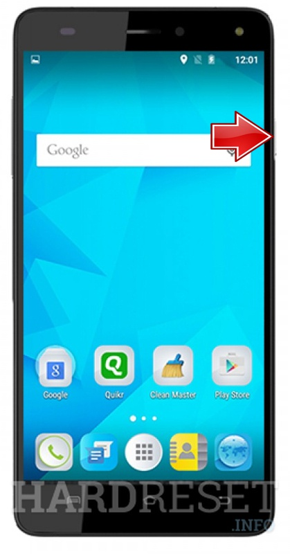 Hard Reset MICROMAX Canvas Fire 4G Plus Q412