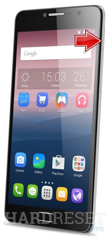 Hard Reset ALCATEL Pop 4S