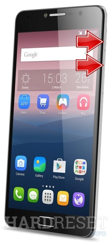 HardReset ALCATEL Pop 4S
