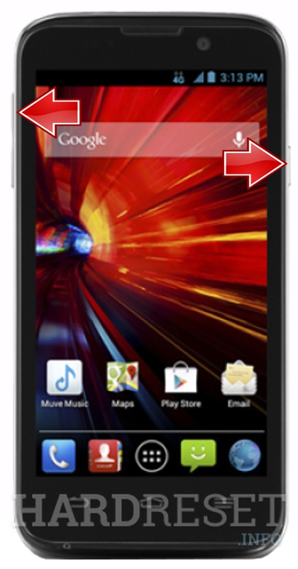 HardReset ZTE n9511 Source