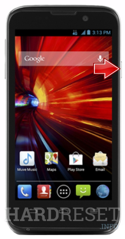 Hard Reset ZTE n9511 Source