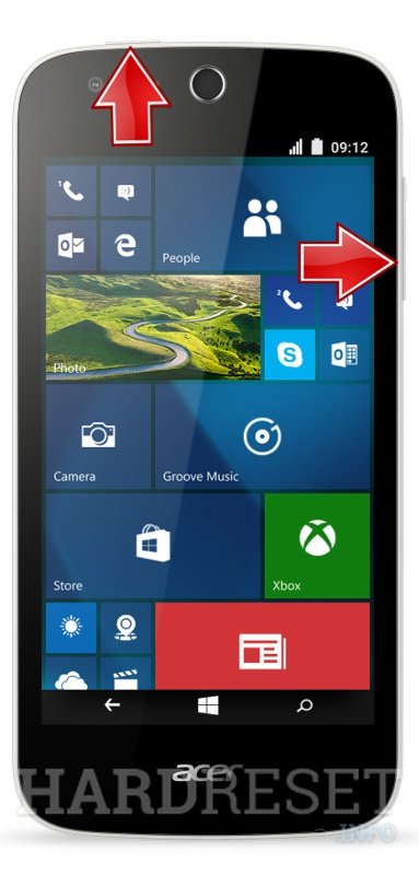 Factory Reset ACER Liquid M330