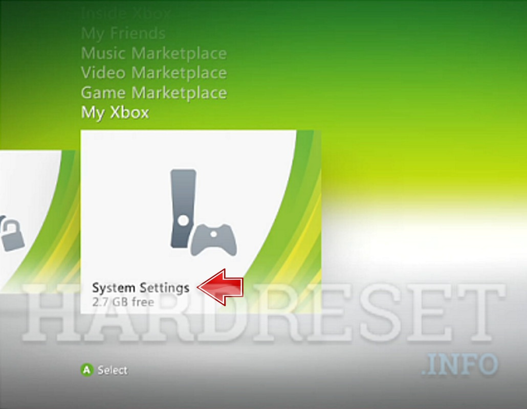 Hard Reset MICROSOFT Xbox 360 Super Elite