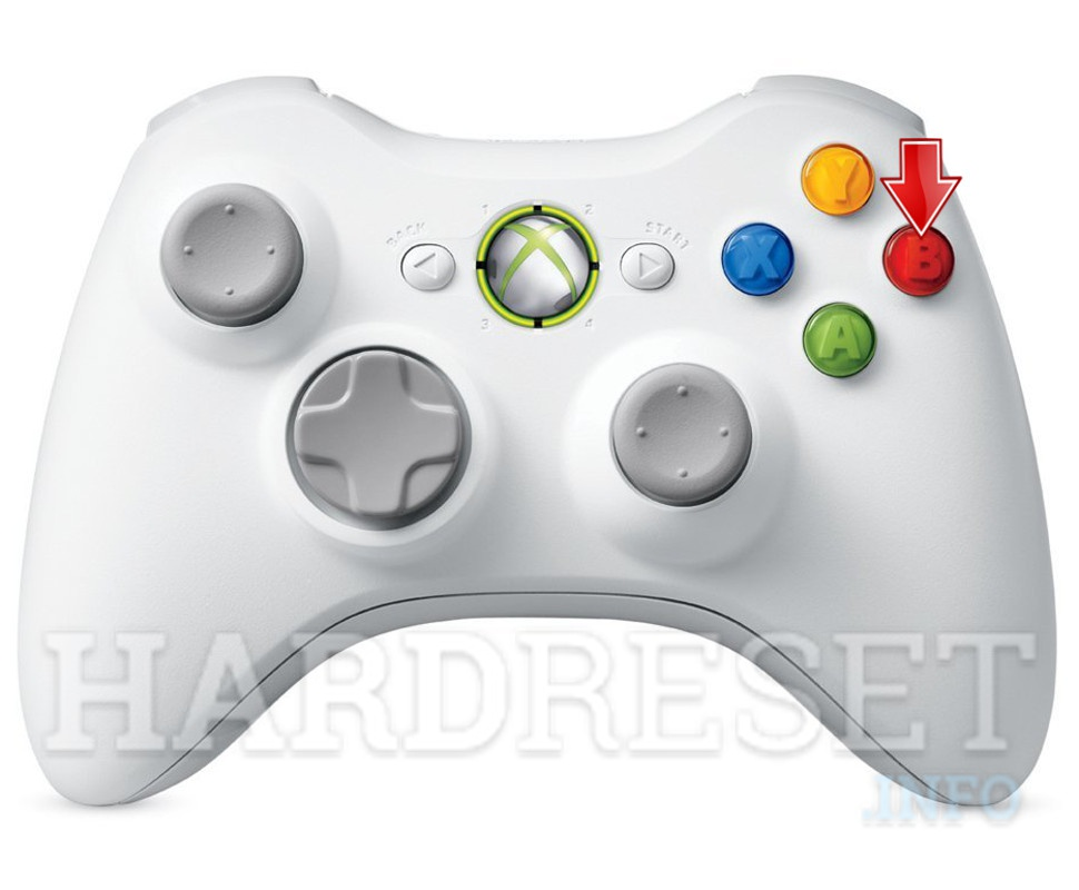 Wipe data MICROSOFT Xbox 360 Core