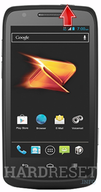 Hard Reset ZTE N9100 Boost Force