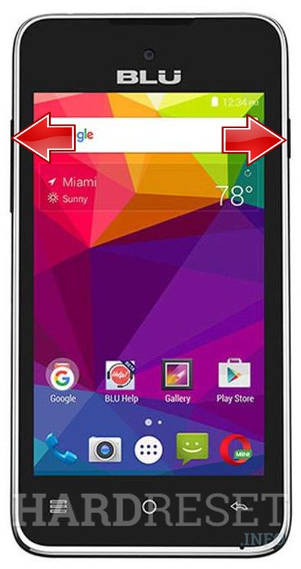 Remove screen password on BLU Advance 4.0 L2 A030U