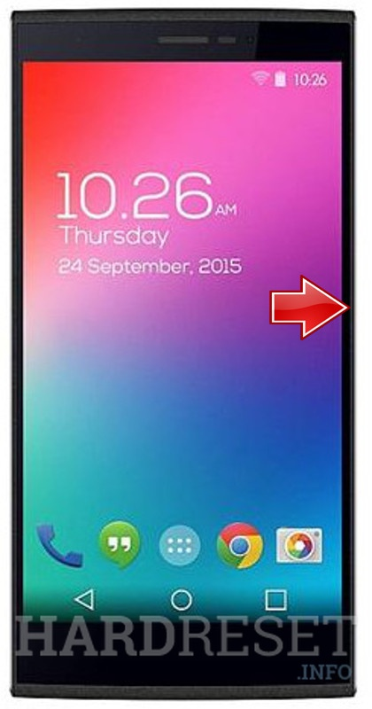 Wipe data on MICROMAX Canvas Play 4G Q469