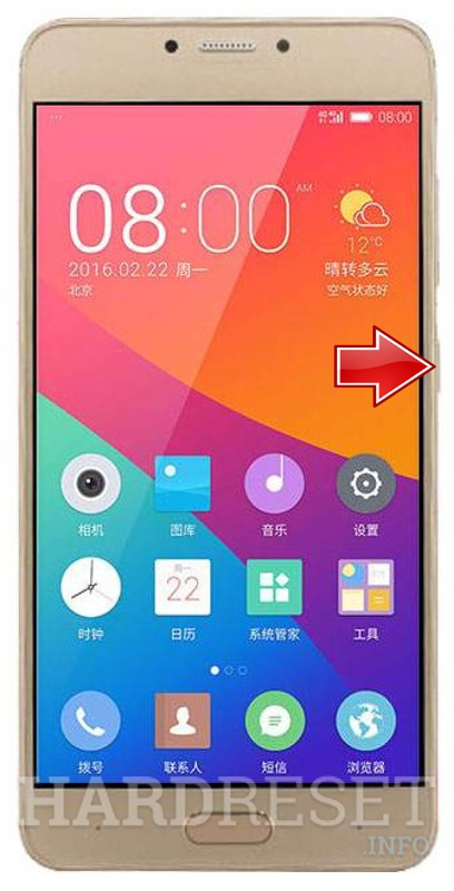 Hard Reset GIONEE S6 Pro