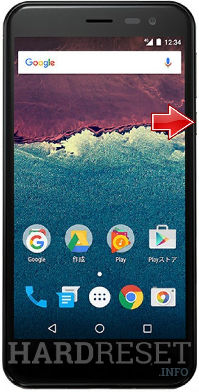 Remove Screen Lock on SHARP Aquos 507SH Android One