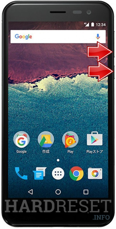 Permanently delete data from SHARP Aquos 507SH Android One