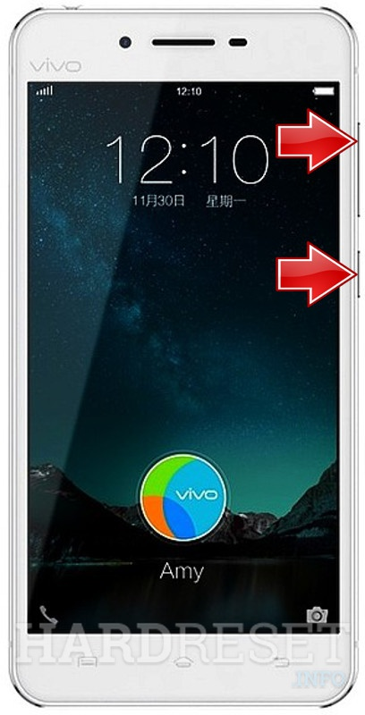HardReset VIVO X6S Plus