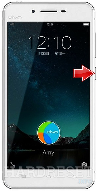 Hard Reset VIVO X6S