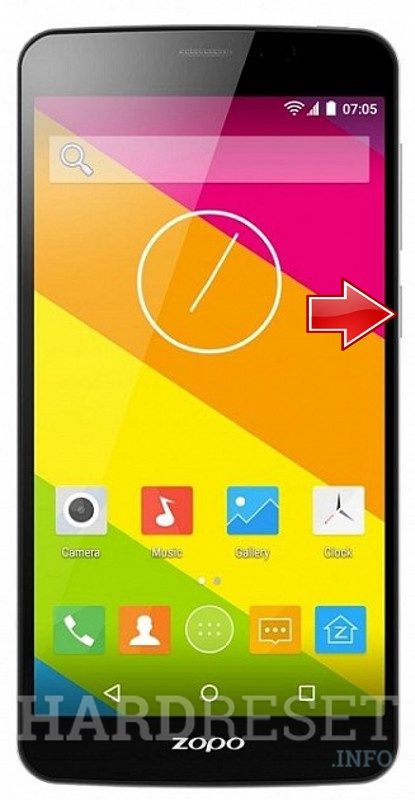 Hard Reset ZOPO Color S5
