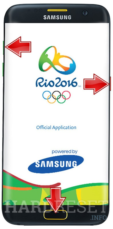 HardReset SAMSUNG Galaxy S7 Edge Olympic Games Edition